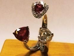 ruby and diamond trillon