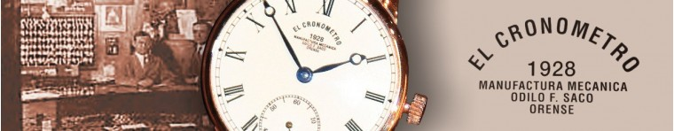 MANUFACTURA  ELCRONOMETRO1928